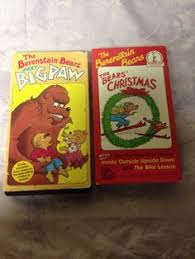 The Berenstain Bears Christmas Tree Dvd by On Hold For Jamie The Berenstain Bears Christmas Tree Vhs 1987