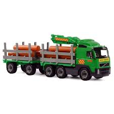 Polesie Volvo Timber Transport Truck With Trailer Kids Child Play ... Truck Trailer Toy First Gear Peterbilt 351 Day Cab With Dual Dump Trailers Farmer Farm Tractor And Kids Set Onle4bargains 164 Scale Model Truckisuzu Metal Diecast Trucks Semi Hauler Kenworth And Mack Unboxing Big 116 367 W Lowboy By Horse Hay Biguntryfarmtoyscom Bayer Equipment Custom Bodies Boxes Beds Amazoncom Daron Ups Die Cast 2 Toys Games A Camping Pickup