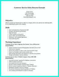 Example Of Resume Objective For Customer Service 4 Examples Resumes Relevant Objectives