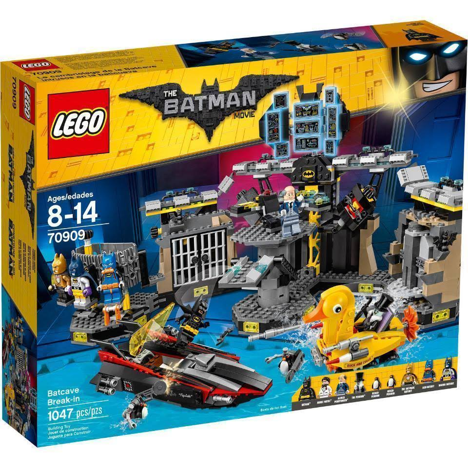 The LEGO Batman Movie: Batcave Break-in Building Play Set