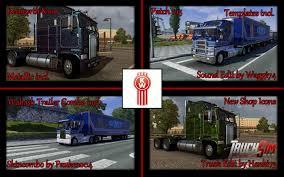 Kenworth K100 V1.3 | ETS2 Mods | Euro Truck Simulator 2 Mods ...