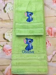 Decorative Towel Sets Bathroom by Stitch Towel Set Lilo And Stitch Bathroom Towels Lilo And