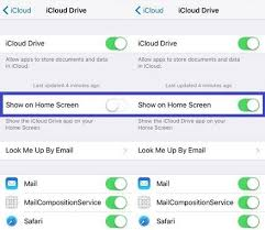 How to enable hidden iCloud Drive app icon on iOS 9 iPhone iPad