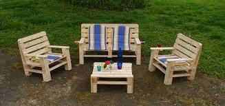 salon de jardin palette de bois