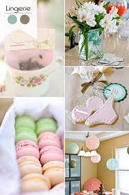 Pink And Blue Lingerie Themed Bridal Shower Ideas 2015 Trends