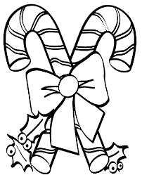 Good Candy Cane Coloring Pages 84 For Your Free Colouring With