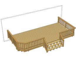 Menards Cedar Deck Boards by 24 U0027 X 12 U0027 Deck W Wide Stairs At Menards Dream Home Pinterest