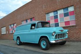 Check Out This 1955 Chevrolet Panel Van With 600 Hp Of Duramax Power