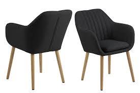 emil esszimmerstuhl armlehne grau stuhl esszimmer stühle küchenstuhl küche dynamic 24 de