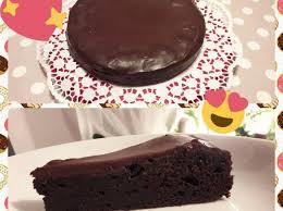 saftiger schokoladenkuchen mit glasur