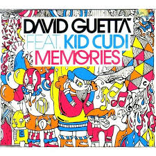 Memories By David Guetta Feat Kid Cudi CDS With