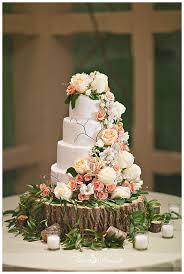 Tree Stump Wedding Cake Stand Photo