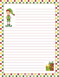Printable Elf Stationery