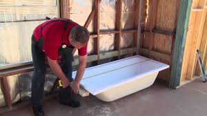 Tiling A Bathtub Skirt by How To Build A Bath Frame Diy At Bunnings Youtube