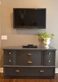 Graco Espresso Dresser Furniture by Diy Dresser Makeover Used A Graco Paint Sprayer To Paint