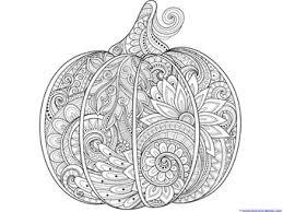 Pumpkin Coloring 1 2
