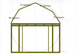 guide to set shed Barn roof truss plans