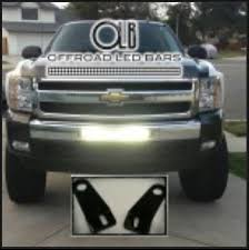 chevrolet silverado 20 led light bar bumper kit