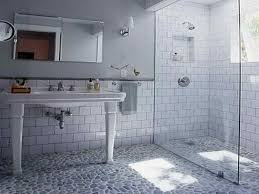 how to repairs beveled subway tile shower how to install