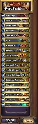 dkmr s deck of the week 1 warrior control blizzpro s hearthstone