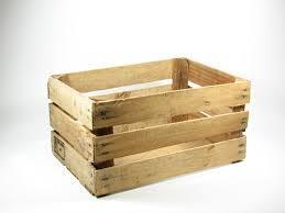 Vintage Wood Open Slat Fruit Crate Bridgewoodplace Etsy