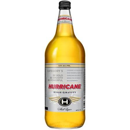 Hurricane Hi Gravity Malt Liquor - 40fl .oz