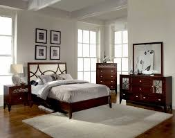 small master bedroom design black leather headboard bed white