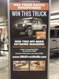 Great American Outdoor Show - NRA Truck Raffle Sweepstakes ... Build Your Tundra Sweepstakes Julies Freebies Stabil 360 Custom Car Winner Presentation Cool Jasons Story The Of Knapheides Winatruck Win That Ford Mustang Sweeptsakes Mungenast St Louis Honda Enter The Camp Ridgeline Bangshiftcom Classic Liquidators Upgrade Brakes On A 1971 C10 Chevy Pickup Truck Cabelas Announces More Winners Fifty Years Trucks Horsepower Pitvsind Youtube Monster Trucks Merchandise Nra Blog Truck Raffle Receives Prize