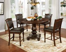 Alpena Traditional Style Brown Cherry Finish Round 5pc Counter ... 5 Pc Small Kitchen Table And Chairs Setround 4 Beautiful White Round Homesfeed 3 Pc 2 Shop The Gray Barn Spring Mount 5piece Ding Set With Cm3556undtoplioodwithmirrordingtabletpresso Kaitlin Miami Direct Fniture Upholstered Chair By Liberty Wolf Of America Wenslow Piece Rustic Alpine Newberry 54 In Salvaged Grey Art Inc Saint Germain 5piece Marble Set 6 Chairs Tables