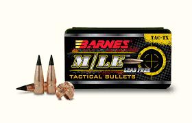 Barnes Tipped M/LE TAC-TX Rifle Bullets .338 Cal .338