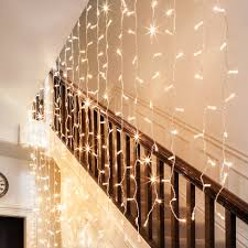 Icicle Lights In Bedroom by Indoor Curtain Lights Lights4fun Co Uk