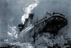 Titanic Sinking Animation National Geographic by This Is A Dramatic Scene Where It Shows The Titanic Breaking In