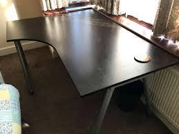 Ikea Corner Desks Black by Articles With Ikea Galant Corner Desk Black Tag Appealing Ikea