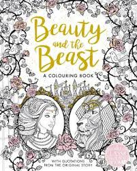 The Beauty And The Beast Colouring Book By Gabrielle Suzanne De