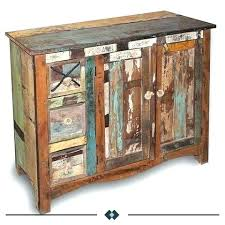 Rustic Meaning Reclaimed Wood Furniture Natural From