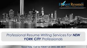 Professional Resume Writing Services NYC Area - Expert Resumes