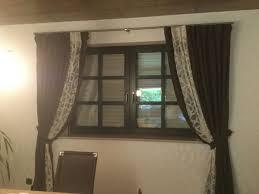 dekorative gardinen für wohn oder esszimmer