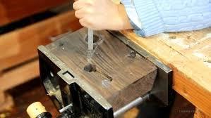 make it build a stylish copper wood u0026 leather led desk light