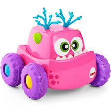 Buy Fisher Price Press 'N Go Monster Truck, Pink Online At Best ...