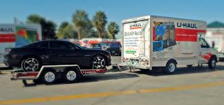 How To Drive A Moving Truck With An Auto Transport - Moving Insider
