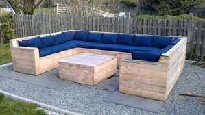 Pallet Garden Furniture Plans Wood Outdoor Projects