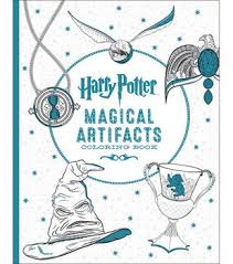 Harry PotterTM Magical Artifacts Coloring Book