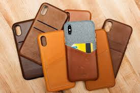 Finding the best leather case for the iPhone X The Verge