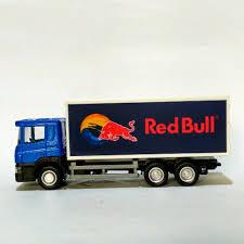 Jual Uni Car Truck Series Scania Container Custom Red Bull Di Lapak ...