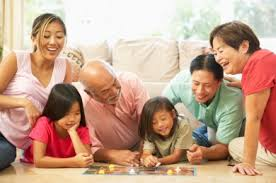 Playing Board Games With Children