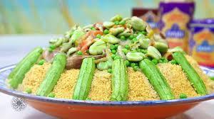 choumicha cuisine tv choumicha couscous complet aux légumes verts whole wheat