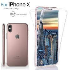Clear 360° Full Body TPU Soft Protective Case Cover For iPhone 6