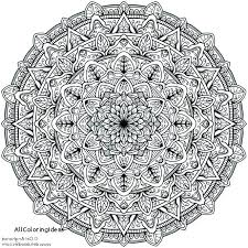 Really Hard Coloring Pages To Color Difficult Mandala X For Adults Printable