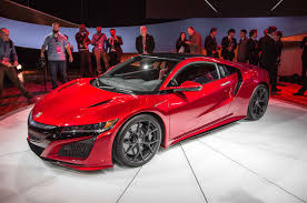 Hear the 2017 Acura NSX Rev Its Engine W Video