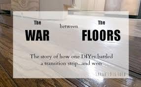 the war between the floors how one diy er battled a transition